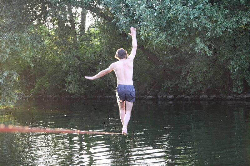 Auf einer Waterline