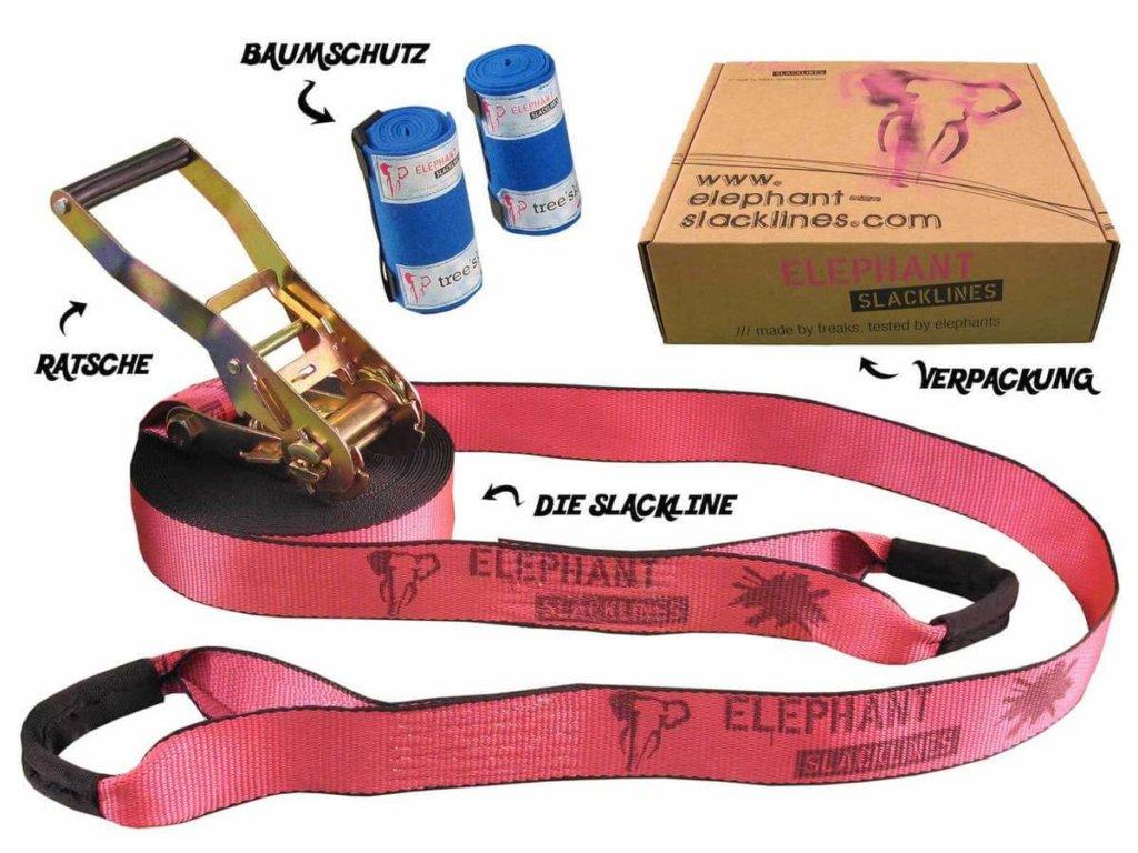 15 Meter Rookie Flashline pink