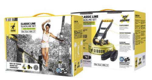 Verpackung der 15 Meter Gibbon Classic